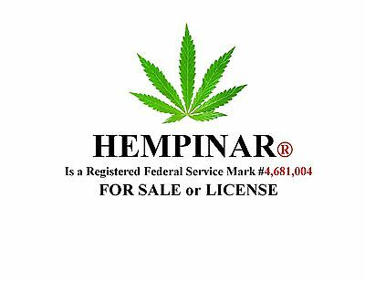 HEMPINAR® a Federal REGISTERED Service Mark is FOR SALE