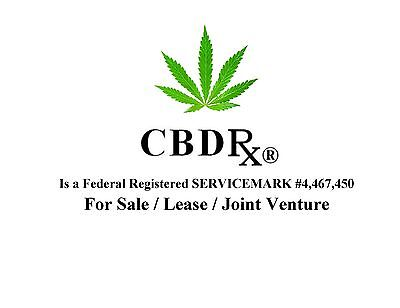 CBDRx®  a  Federal Registered >Service Mark< is FOR SALE
