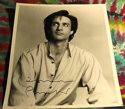 "Bronson Pinchot - Perfect Strangers---- Signed 8"" X 10"" Photo Re ------- K @@ L"