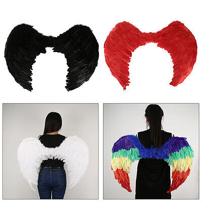 Large Foldable Feather Angel Wings Halloween/Hen Night/Christmas/Party/Costume