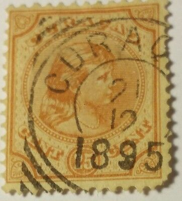 Curacao   Scott#22  Cat Value At $6.00 Used......worldwide Stamps
