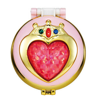 Sailor Moon - Gashapon Mirror Compact 2 - Chibimoon Prism Heart Locket Brooch