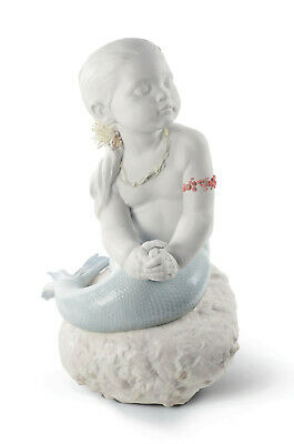Lladro Princess Of The Waves Limited Edition Brand New In Box #8713 Mermaid Deco