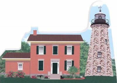 Cat's Meow Village Charlotte Genesee Lighthouse Rochester NY R946 NEW SHIP DISC
