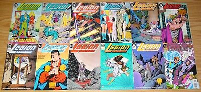Legion of Super-Heroes #0 & 1-125 VF/NM complete series + annual 1-7 + million