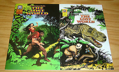Sir Arthur Conan Doyle's the Lost World #1-2 VF/NM complete series - dinosaurs