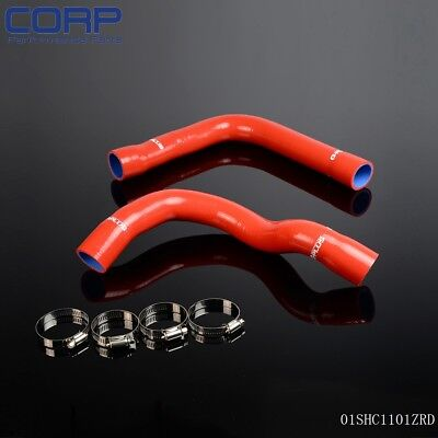 GPLUS Silicone Radiator Hose Tube FOR BMW E36 Z3/318I/IC/IS/TI M42/M44 92-99 Red