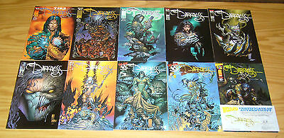 the Darkness #½ & 1-40 VF/NM complete series - garth ennis  image comics top cow