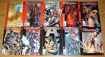 the Ultimates #1-13 + 2 #1-13 + 3 #1-5 VF/NM complete series + annual #1-2 set