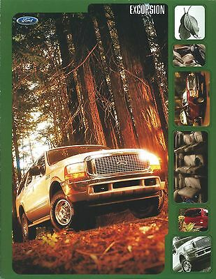 Truck Brochure - Ford - Excursion - c2001  (T1715)