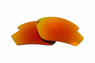 New SEEK Polarized Replacement Lenses for Rudy Project RYDON Fire Red Mirror