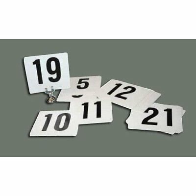 Winco TBN-25 1-25 Plastic Table Numbers New