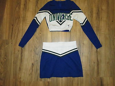 Competition Teen Cheerleader Uniform Outfit Halloween Costume UNIVERSE 30/26