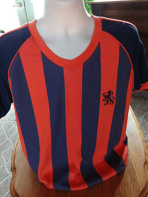 Nederland T-Shirt sz. Large- Embroidered & Screened-Holland-Dutch