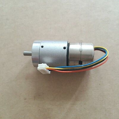 2-Phase 4-Wire 20MM Stepper Motor Metal Gear Box DC 5v 6v Planetary Geared New