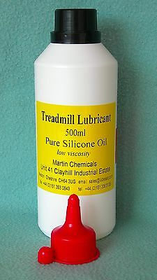 lubesETC Treadmill Silicone Lubricant 500ml bottle rubber belt lube
