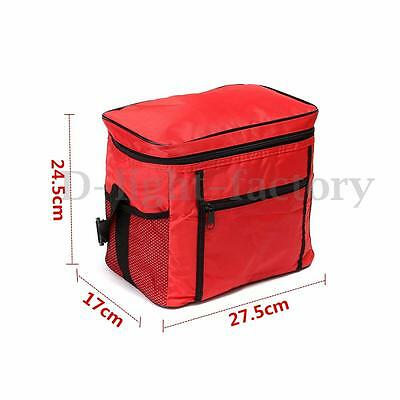 Travel Portable Waterproof Thermal Cooler Insulated Tote Picnic Lunch Ice Bag
