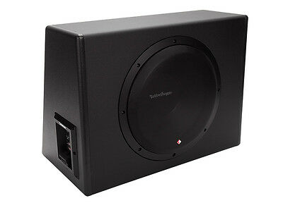 """Rockford Fosgate P300-12 300 Watts Loaded 12"""" Sealed Powered Subwoofer Enclosure"""
