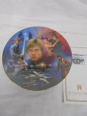 Star Wars - Hamilton Plates - Luke Skywalker
