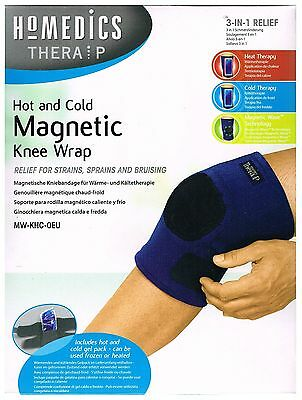 Homedics Hot & Cold Gel Therapy Magnetic Knee Wrap Support