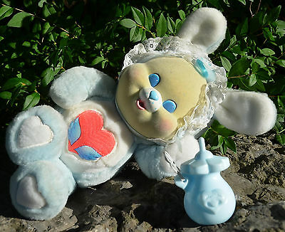 Vintage 1986 Kenner CARE BEAR COUSIN CUB L'il Baby Swift Heart Rabbit COMPLETE