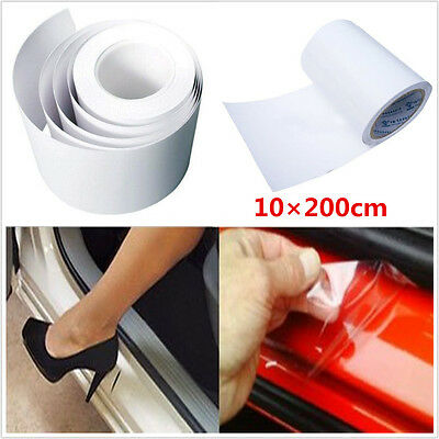 Universal 2m*10cm Clear Film Vinyl Car Door Sill/Edge Paint Protect Anti-Scratch