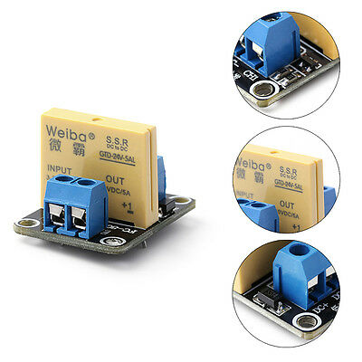 1 Channel SSR Solid State Relay High-low Trigger 5A 24V For Arduino UNO R3 Hot