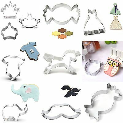Fondant Crown Pastry Decorating Baking Cutter Cookies Tool Crown Cake Mold DIY