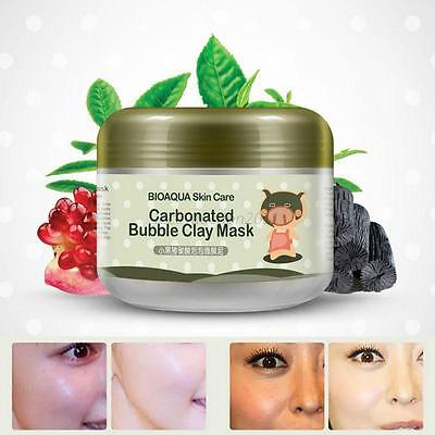 Carbonated Bubble Clay Mask Whitening Oxygen Mud Moisturizing Deep Cleanse