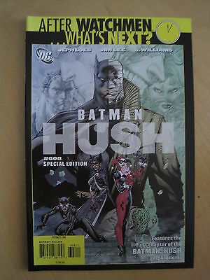 AFTER  WATCHMEN ... WHAT'S NEXT? Special Edition BATMAN 608. HUSH by LOEB & LEE