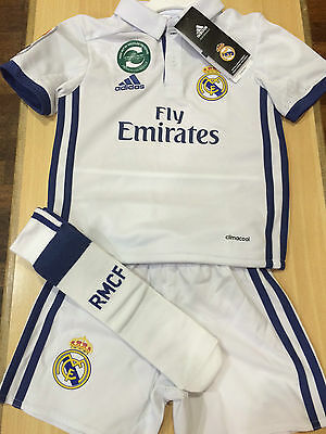 ****new Real Madrid Home Kit 2016/17**** - 30% Off Rrp - ***small Fit***