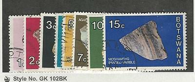 Botswana, Postage Stamp, #155//162 Used ( 8 Different), 1976