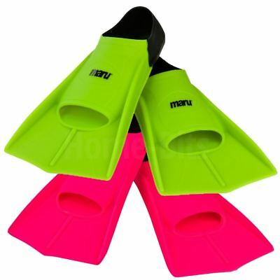 Maru Resistance Training Fins Swimming Aid Swim Flippers Junior / Adult Sizes