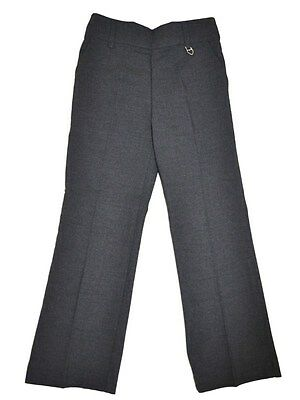 Ex-John Lewis Girls GREY Heart School Trousers  Ages 4. 7. 8. 9. 10. 12.  yrs
