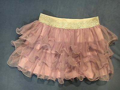 Justice Girl's Purple & Silver Skirt.  Size 18.