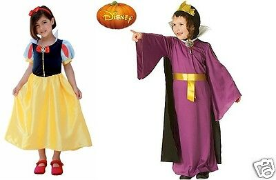 Disney Snow White & Evil Queen Dress up Costume Set - Ages 8-10 years
