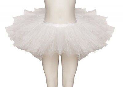 White Premium Dance Ballet Tutu Skirt Childs & Ladies Sizes By Katz Dancewear