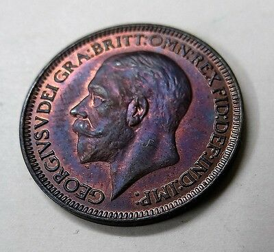 Farthing George V 1936 with Mint Lustre