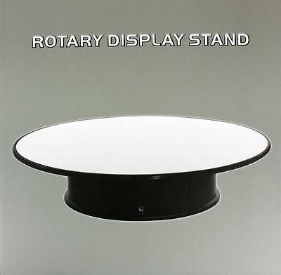 "Model Display Mirror Turntable Rotating 25Cm 10"" Wt  New Rotary Stand 88010"
