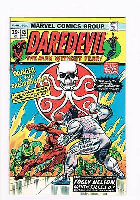 Daredevil # 121 Foggy Nelson, Agent of SHIELD ! grade 7.5 scarce hot book !!