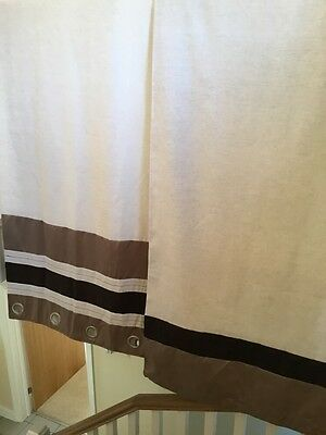 Gold curtains 63 inch by 92 inch drop • £15.00 - PicClick UK