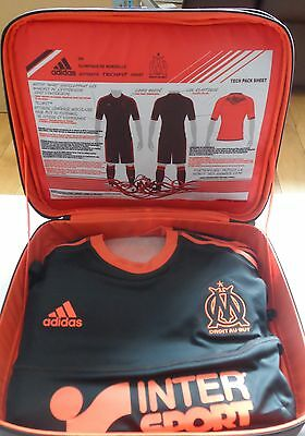 Olympic Marseille 2012/13 S/s Techfit 3Rd Shirt In Bag By Adidas Size Xl