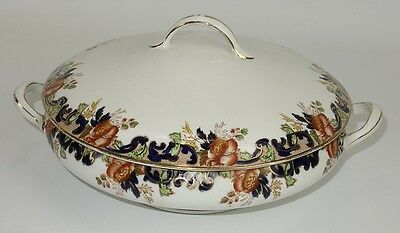 Antique John Maddock & Sons  Round Covered Vegetable Dish
