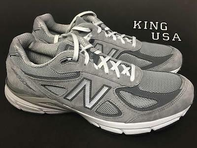 pretty nice 85d0d 777d8 MEN'S NEW BALANCE 990v4 Athletic Running Shoes M990GL4 Grey