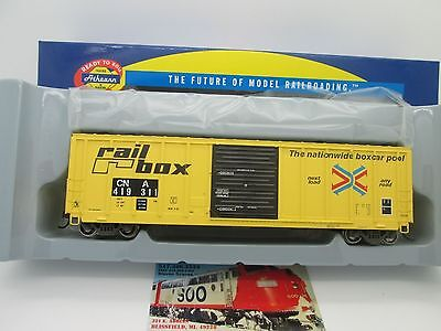Canadian National RTR 50' PS 5277 Cubic ft. Boxcar #419335 HO - Athearn #76341