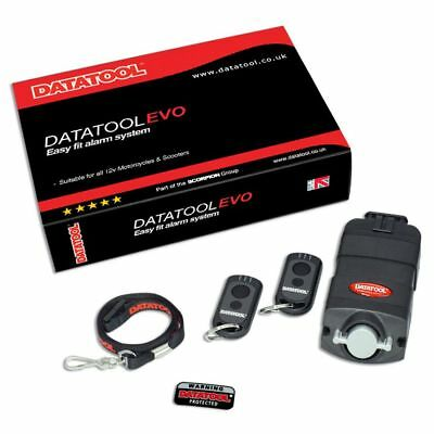 Datatool Evo Motorcycle / Motorbike / Security Alarm System & Movement Sensor