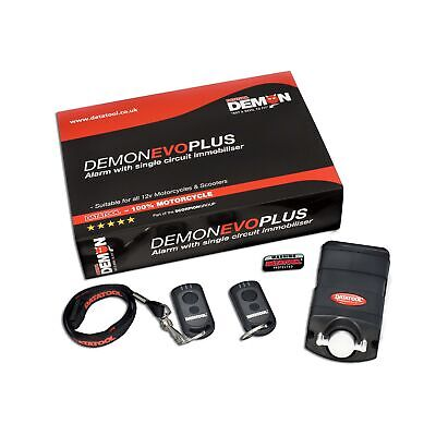 Datatool Demon Evo Plus Motorcycle / Motorbike Alarm / Immobiliser System