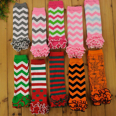 Kids Baby Girl Boy Leg Warmers Cover Tights Toddler Socks Children Colorful