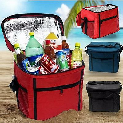 Large Travel Portable Thermal Insulated Cool Bag Tote Picnic Lunch Storage Bag