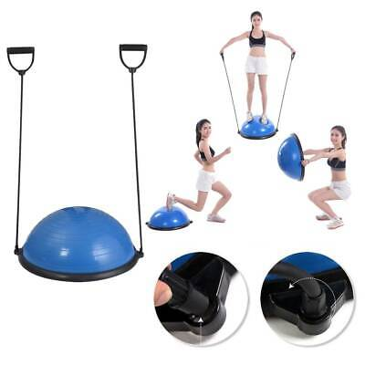 """23"""" Yoga Ball Balance Trainer Yoga Fitness Strength Exercise Workout w/Pump"""